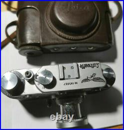 German WW2 air force Luftwaffe Film camera in working order with leather case