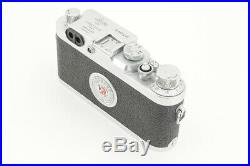 Good Leica IIIg 35mm Rangefinder Camera with Leather Case from Japan #4557