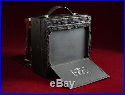 Gundlach Korona IV 5x7 Compact View Camera Complete with Leather Case, Holders