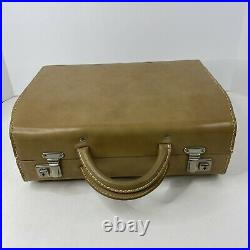 Hasselblad Sweden 500 Series Tan Leather Camera System Case for V System With Key