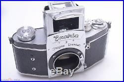 IHAGEE EXAKTA KINE II READ 35MM SLR FILM CAMERA BODY With ORIGINAL LEATHER CASE