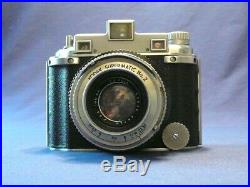 Kodak Medalist Camera with leather case in exceptional condition
