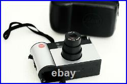 LEICA C 11 in leather case point and shoot compact APS film camera tested