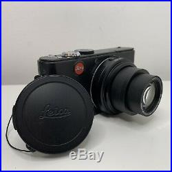 LEICA D-LUX 3 Compact Black Digital Camera & Brown Leather Case BOXED