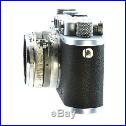 LEICA D. R. P. CAMERA Leather carry case normal wear working SN 215111 hoya filter
