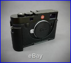 LIM'S CAMERA CASE for Leica M10/Leather Case & Metal Grip/Case + Dovetail Plate