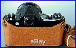 LUIGI PREMIUM CASE NIKON F, BLACK, BROWN, if wanted, OTHER COLORS, UPS/DHL INCLUDED