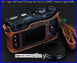 LUIGI PREMIUM CASE+STRAP+UPS 4 FUJI X100T, SAME LOWERED PRICE FOR any READY CASE