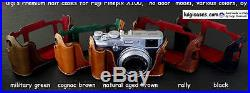 LUIGI PREMIUM CASE, to FUJI X100, X100s+STRAP+NATURAL AGED BROWN+SHIPPING, REDUCED