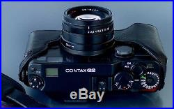 LUIGI's CASE for ZEISS CONTAX G2-G1, DELUXE STRAP AND FAST WW SHIPPING INCLUDED