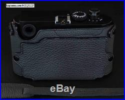 LUIGI'sNEW GRAY BASIC PLUS ITALIAN CASE for LEICA M9-M8, HANGING BACK, WITH STRAP
