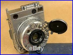 Le Coultre Compass Subminiature Spy Camera with Leather Case Working & Rare