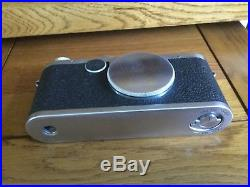 Leica 1c 1950/51 vintage Camera body with leather Leica case