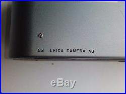 Leica C3 35mm Point & Shoot Film Camera With Leather Case Tested & Working