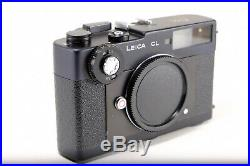 Leica CL 35mm Rangefinder Camera w leather case-in full working condition