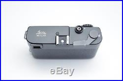 Leica CL camera late serial number with Mr. Zhou leather half case TESTED