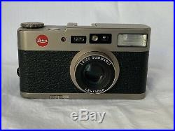 Leica CM 35mm Compact Camera and Leica Leather Case