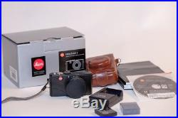 Leica D-LUX 3 10.0MP Digital Camera Black with Leather Case and Boxes