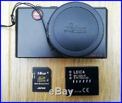 Leica D-LUX 3 10.0MP Digital Camera, Leather case, charger, 16GB Memory Card