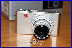 Leica D-LUX 3 10.0MP Digital Camera Silver withBox and CD and Leica Leather case