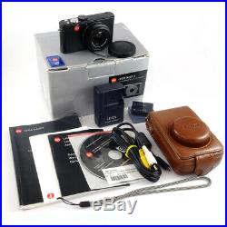 Leica D-LUX 3 Expert f2.8 Lens Compact & Leather Case BOXED UK CAMERA DEALER