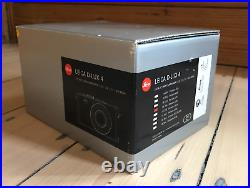 Leica D-LUX 4 10.1MP Digital Camera Black / Leather Case / Charger / Box