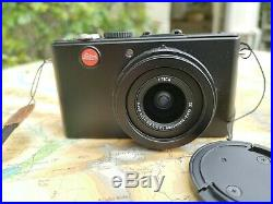 Leica D-LUX 4 10.1MP Digital Camera Black hardly used, Leather case, Japan Made