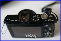 Leica D-LUX 4 10.1MP Digital Camera Black with leather case