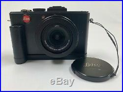 Leica D-LUX 5 10.1 MP Digital Camera Including Handle, Leather Case & Charger