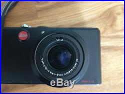 Leica D-Lux 3 Digital Camera Vario Elmarit with Brown Leather Case and box