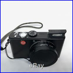 Leica D-Lux 3 Digital Point & Shoot Camera w Genuine Leica Leather Case TESTED