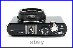 Leica D-Lux 4 Digital Camera (Black) with Leather Case #33990