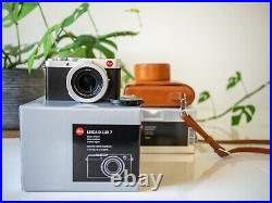 Leica D-Lux 7 Camera + Leather Case. MINT CONDITIONS, LIKE NEW + Original Boxes