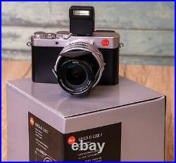 Leica D-Lux 7 Camera excellent, boxed with Leica Leather Case & auto lens cap