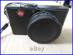 Leica D-lux 3 10.0mp Black Digital Camera-leather Case-boxed