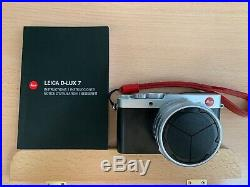 Leica D-lux 7 Digital Camera & Red Leather Carrying Case Accessory Bundle