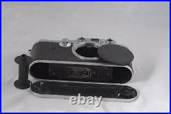 Leica IIIC SM Shark Skin Camera Body #495657 with Usable Leather Case