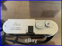 Leica M-P240 camera with origin package leather case