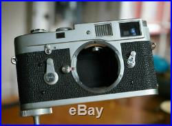 Leica M2 35mm Rangefinder Film Camera Body & Leather Case FREE SHIPPING