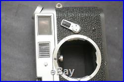 Leica M4 35mm Rangefinder Film Camera Body with Leather Case EXC