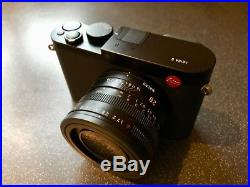 Leica Q (Typ 116) 24.2 MP Digital Camera with Artist & Artisan Leather Half Case