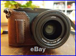 Leica Q Typ 116 digital camera black anodized boxed MINT with leather case