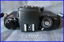 Leica R7 SLR film camera body only with leather case