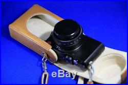 Leica Type 109 camera and leather case
