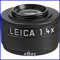 Leica Viewfinder Magnifier M 1.4x with Black Leather Case