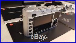 Leica X Type 113 Camera, Brown, Mint Condition, With Leica Leather Case + Strap
