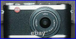 Leica X X1 12.2MP Digital Camera Black with Leica Leather Case and Charger
