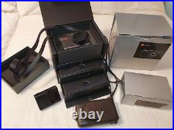 Leica X1 Digital Camera and Leather Case Boxes + Strap