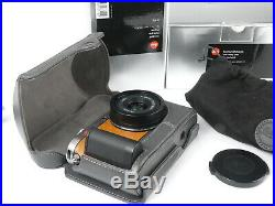Leica X1 camera Custom skin with Grip and Leather case set