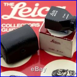 Leitz Leica 12002 21mm SBKOO Viewfinder With Leather Case